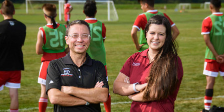 Photo: Maria dos Santos and Nestor Osorio